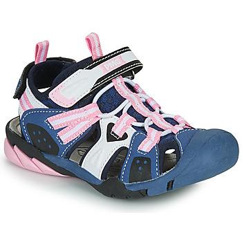 Topánky Dievčatá Športové sandále Primigi CAMMI Námornícka modrá / Ružová