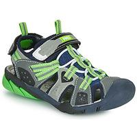 Topánky Chlapci Športové sandále Primigi ANATI Šedá / Zelená