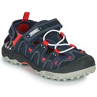 Topánky Chlapci Športové sandále Primigi ALEX Námornícka modrá / Čierna / Červená