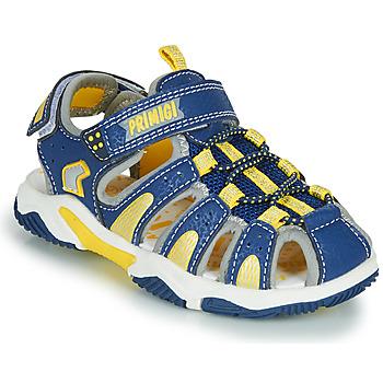 Topánky Chlapci Športové sandále Primigi ISMAEL Modrá / Žltá