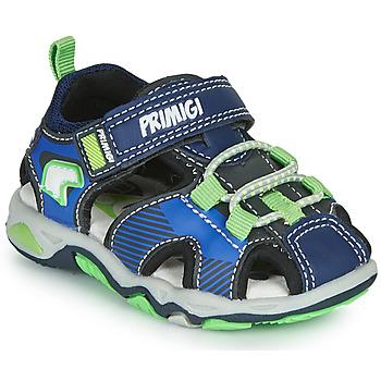 Topánky Chlapci Športové sandále Primigi DINNO Modrá / Zelená