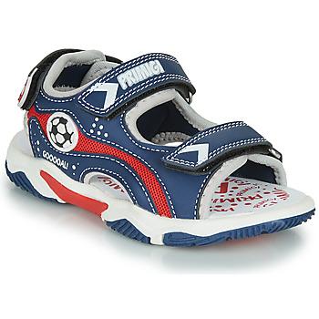 Topánky Chlapci Sandále Primigi MATHIS Námornícka modrá / Červená