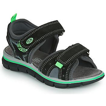 Topánky Chlapci Sandále Primigi NOIRA Čierna / Zelená