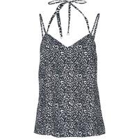 Oblečenie Ženy Tielka a tričká bez rukávov Ikks BS11015-02 Čierna