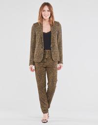 Oblečenie Ženy Padavé nohavice Ikks BS22085-75 Hnedá