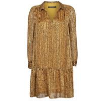 Oblečenie Ženy Krátke šaty Ikks BS30195-75 Žltohnedá ambrová