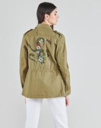 Oblečenie Ženy Saká a blejzre Ikks BS41045-55 Zelená / Karibská modrá