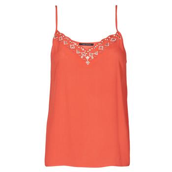 Oblečenie Ženy Tielka a tričká bez rukávov Ikks BS11195-36 Červená