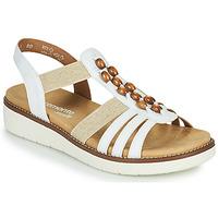 Topánky Ženy Sandále Remonte Dorndorf GRISSA Biela / Šedá
