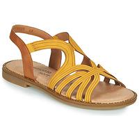Topánky Ženy Sandále Remonte Dorndorf SANDA Žltá / Hnedá
