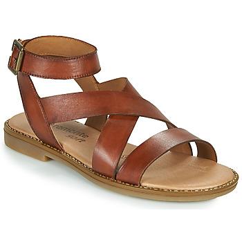 Topánky Ženy Sandále Remonte Dorndorf POLLY Hnedá