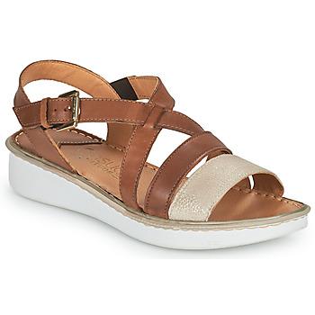 Topánky Ženy Sandále Casual Attitude ODETTE Ťavia hnedá / Zlatá
