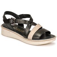 Topánky Ženy Sandále Casual Attitude ODETTE Čierna / Zlatá