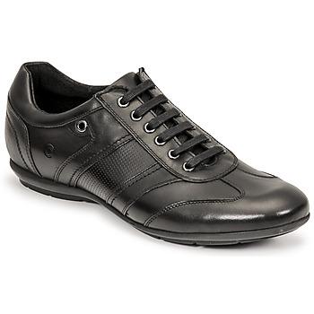 Topánky Muži Derbie Casual Attitude ODEO Čierna