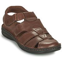 Topánky Muži Sandále Casual Attitude ODOUNE Hnedá