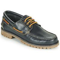 Topánky Muži Námornícke mokasíny Casual Attitude EVEROA Námornícka modrá