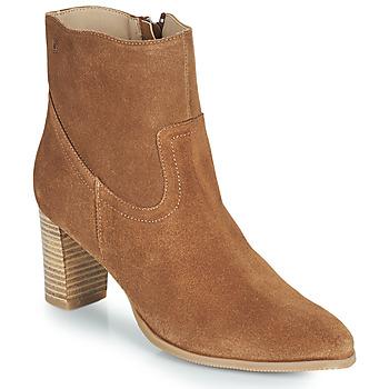 Topánky Ženy Čižmičky Casual Attitude OCETTE Ťavia hnedá