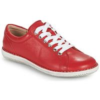 Topánky Ženy Derbie Casual Attitude OULETTE Červená
