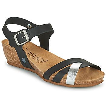Topánky Ženy Sandále Casual Attitude OYA Čierna / Strieborná