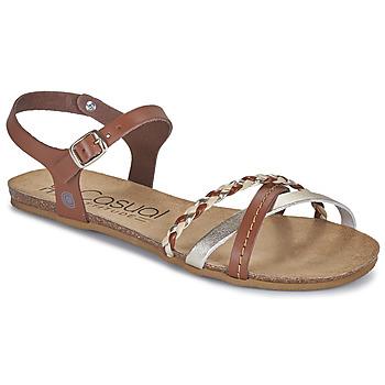 Topánky Ženy Sandále Casual Attitude ODIA Ťavia hnedá / Zlatá