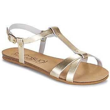 Topánky Ženy Sandále Casual Attitude JALIYAXE Zlatá