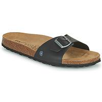Topánky Muži Šľapky Casual Attitude OMIU Čierna