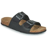 Topánky Muži Šľapky Casual Attitude OMAO Čierna