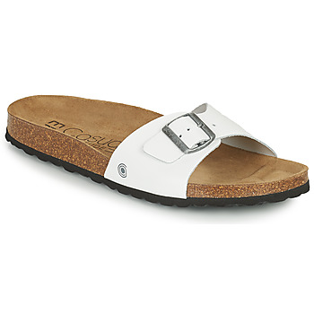 Topánky Muži Šľapky Casual Attitude OMI Biela