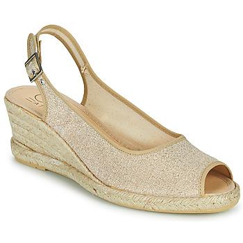 Topánky Ženy Sandále Casual Attitude MADELEINE Zlatá
