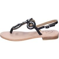 Topánky Ženy Sandále Adriana Del Nista Sandali Pelle Nero