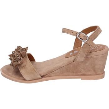 Topánky Ženy Sandále Adriana Del Nista Sandali Camoscio Marrone