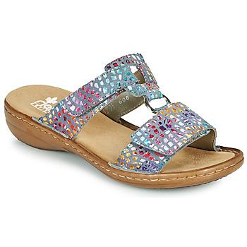 Topánky Ženy Šľapky Rieker FOUNNA Viacfarebná