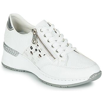 Topánky Ženy Nízke tenisky Rieker GRAMI Biela