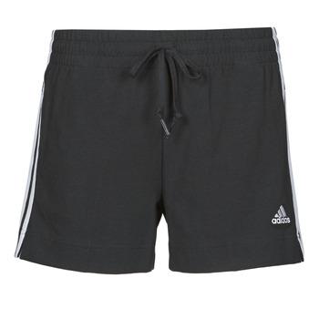 Oblečenie Ženy Šortky a bermudy adidas Performance W 3S SJ SHO Čierna
