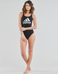 Oblečenie Ženy Plavky jednodielne adidas Performance SH3.RO BOS S Čierna