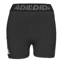 Oblečenie Ženy Šortky a bermudy adidas Performance TF SHRT 3 BAR T Čierna