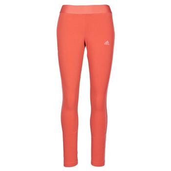 Oblečenie Ženy Legíny adidas Performance W 3S LEG Červená