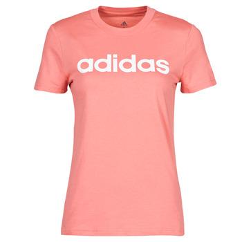 Oblečenie Ženy Tričká s krátkym rukávom adidas Performance W LIN T Ružová