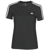 Oblečenie Ženy Tričká s krátkym rukávom adidas Performance W 3S T Čierna