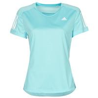 Oblečenie Ženy Tričká s krátkym rukávom adidas Performance OWN THE RUN TEE Modrá