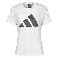 Oblečenie Ženy Tričká s krátkym rukávom adidas Performance W WIN 2.0 TEE Biela