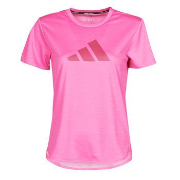 Oblečenie Ženy Tričká s krátkym rukávom adidas Performance BOS LOGO TEE Ružová