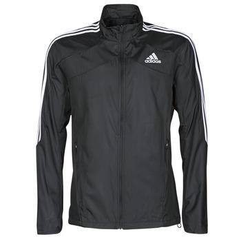 Oblečenie Muži Vrchné bundy adidas Performance MARATHON JKT Čierna
