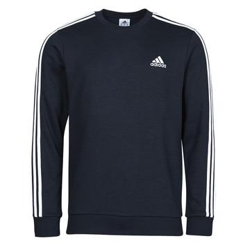 Oblečenie Muži Mikiny adidas Performance M 3S FT SWT Modrá