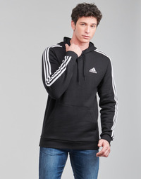 Oblečenie Muži Mikiny adidas Performance M 3S FL HD Čierna