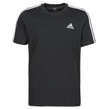 Oblečenie Muži Tričká s krátkym rukávom adidas Performance M 3S SJ T Čierna