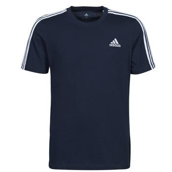 Oblečenie Muži Tričká s krátkym rukávom adidas Performance M 3S SJ T Modrá
