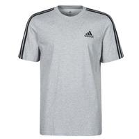 Oblečenie Muži Tričká s krátkym rukávom adidas Performance M 3S SJ T Šedá