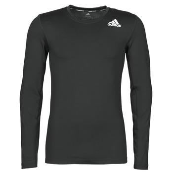 Oblečenie Muži Tričká s dlhým rukávom adidas Performance TF LS Čierna