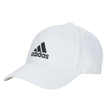 Textilné doplnky Šiltovky adidas Performance BBALL CAP COT Biela